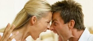 Ruzie over geld met partner